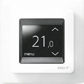 Терморегулятор Devi Touch polar white